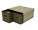 Úložná krabice se 2 šuplíky