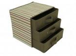 Úložná krabice se 3 šuplíky